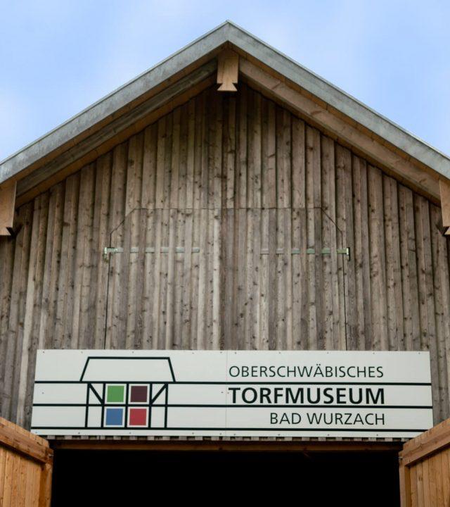 Torfmuseum Eingang